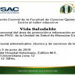 05.06.2018 Taller Educativo «Vida Saludable»